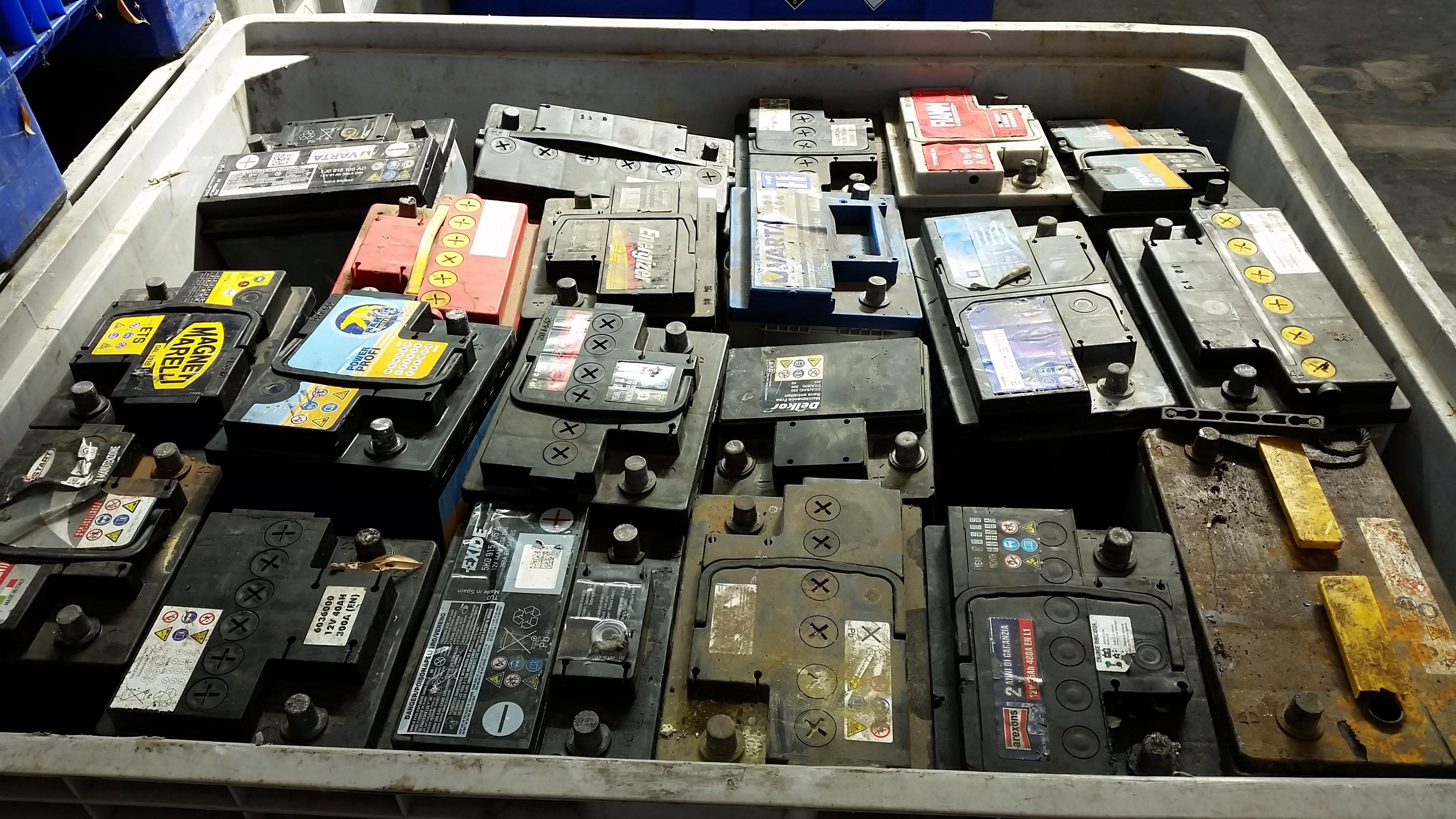 Smaltimento Batterie Usate Fermo