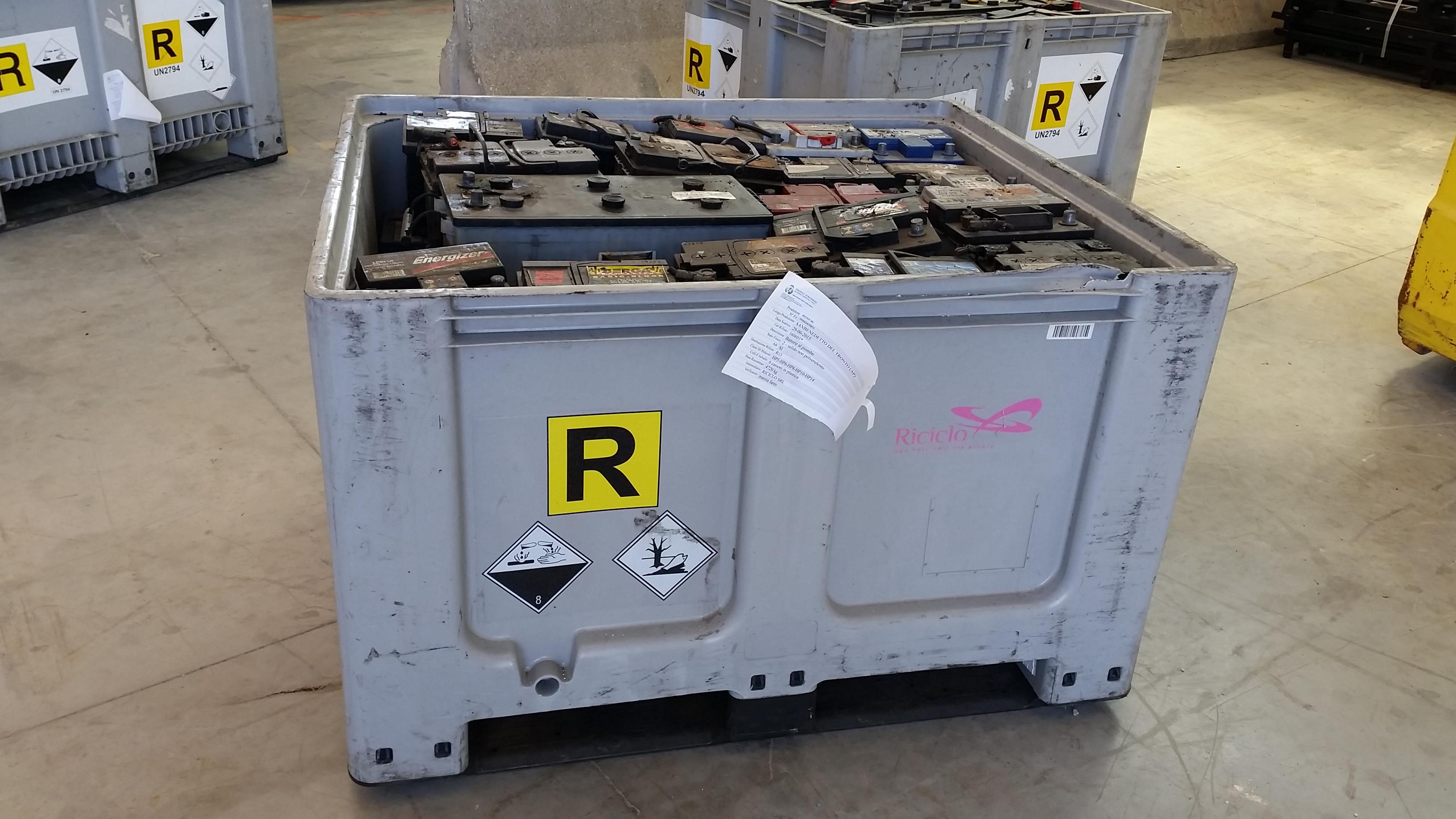 Smaltimento Riufiti Batterie Fermo